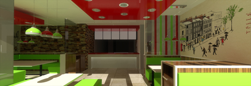 Restaurant 3D Visualisation