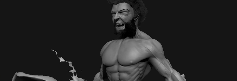 Wolverine Zbrush Sculpt